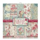 Stamperia - Double-Sided 12 x 12 Inch Paper Pack - Grand Hotel